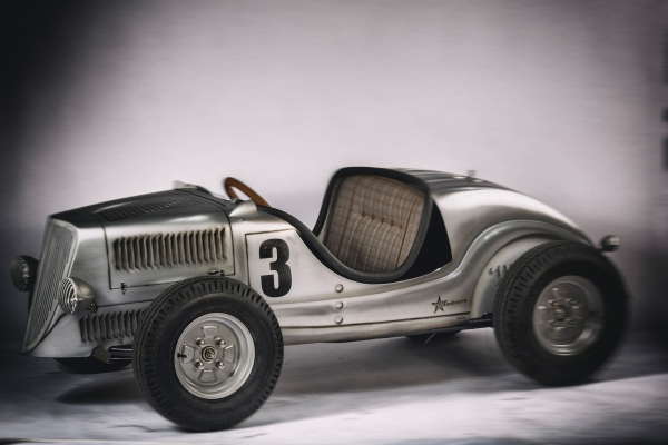 Wenckstern Hot Rod Roadster Full Custom – Silberpfeil