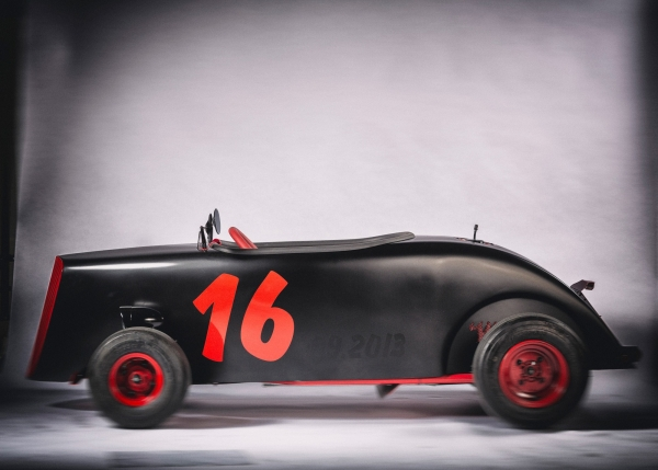 Wenckstern Hot Rod Roadster Full Custom – Red Sixteen
